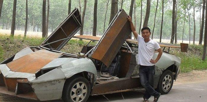 DIY Lamborghini Reventon (5 pics)
