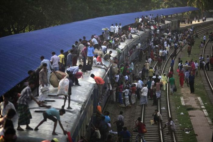 Trains in India (49 pics)