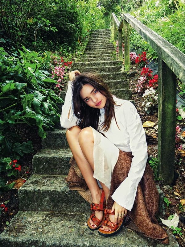 Photos of Miranda Kerr Made by Her Husband Orlando Bloom (14 pics)