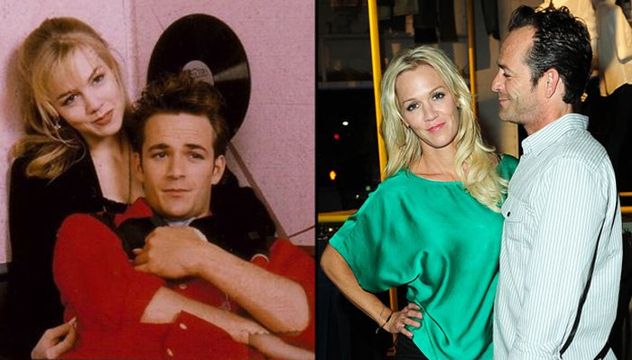 "Dylan And Kelly From ""90210"" Reunited (4 pics)"
