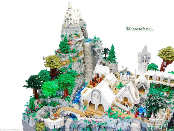 LEGO Rivendell (33 pics)