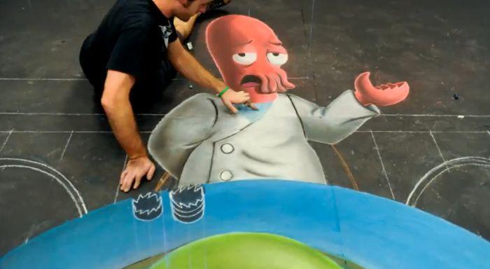 Why Not Zoidberg Street Art (57 pics)