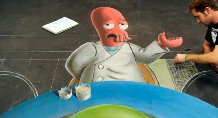 Why Not Zoidberg Street Art (57 pics)