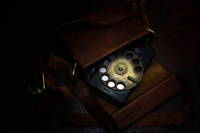Steampunk Smartphone (15 pics)
