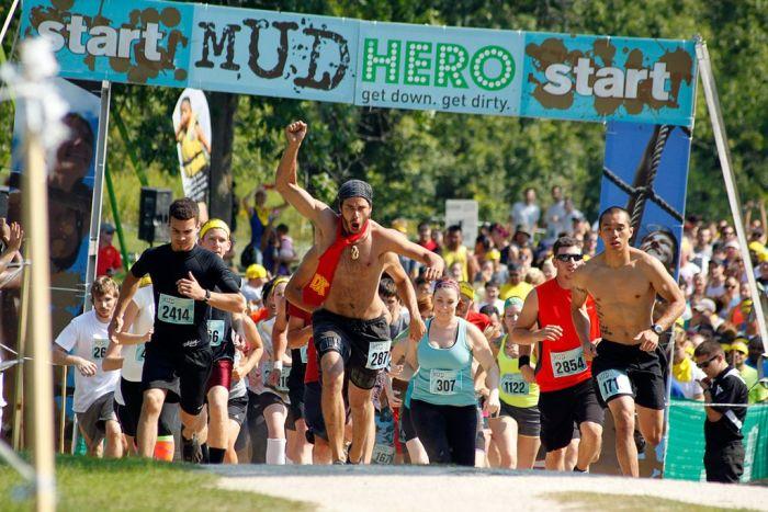 Mud Hero Toronto (27 pics)