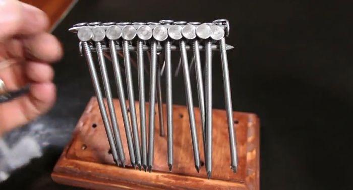 15 Nails Balance Trick (31 pics)