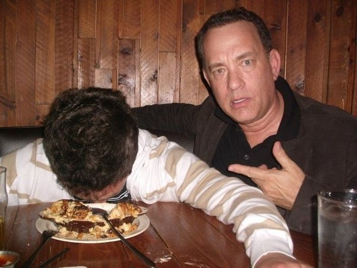 Tom Hanks Is Cool (3 pics)