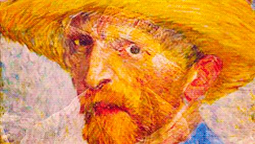 Vincent van Gogh Paintings in Motion (6 gifs)
