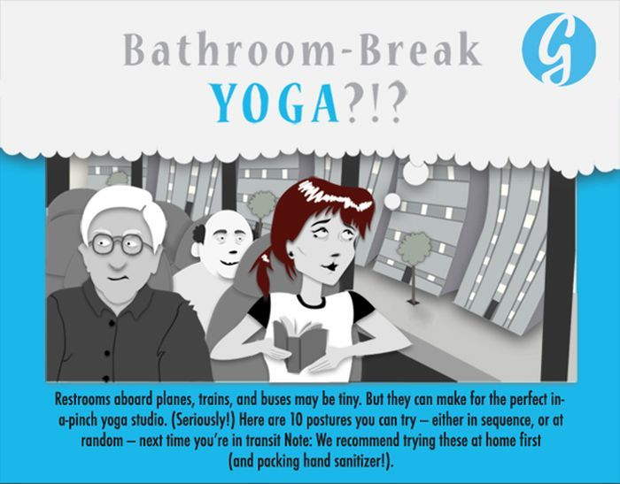 Bathroom Break Yoga (1 pic)