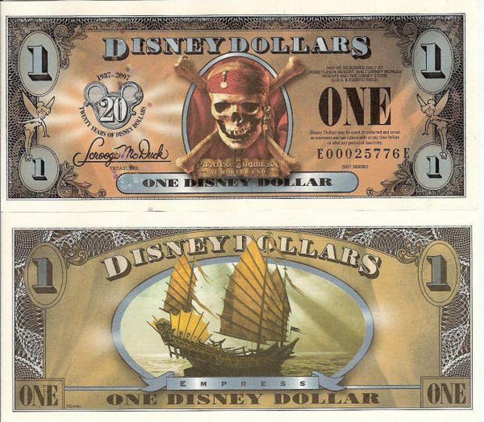 Disney Dollars (35 pics)
