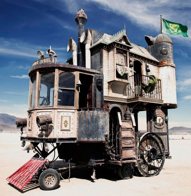 Amazing Steampunk Wheelhouse (6 pics)