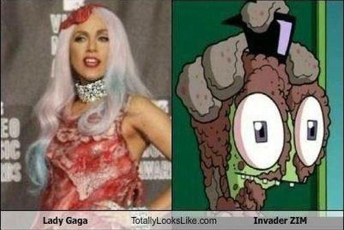 Lady Gaga's Look Alike (10 pics)