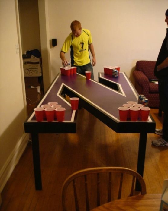 Creative Beer Pong Tables (44 pics)