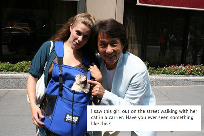 Funny Pictures of Jackie Chan (31 pics)