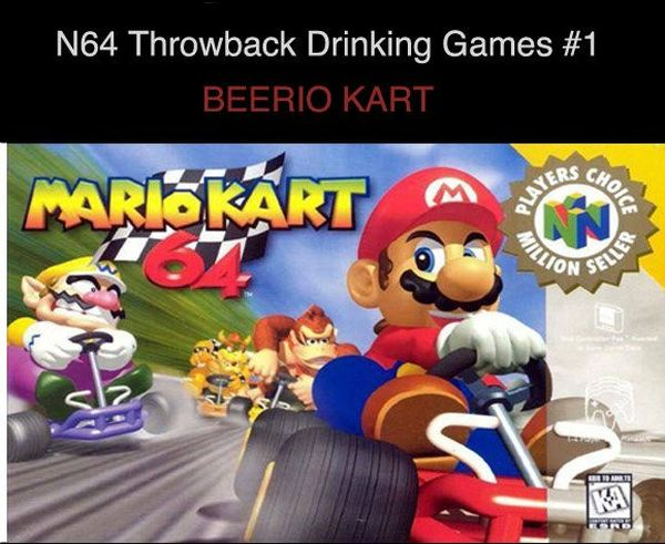 Mario Drinking Game (1 pic)