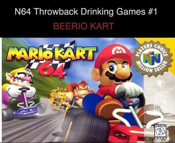 Mario Drinking Game (1 pic)