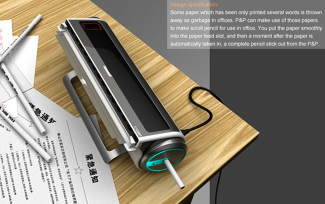 Turn Scrap Paper Into Pencils (5 pics)