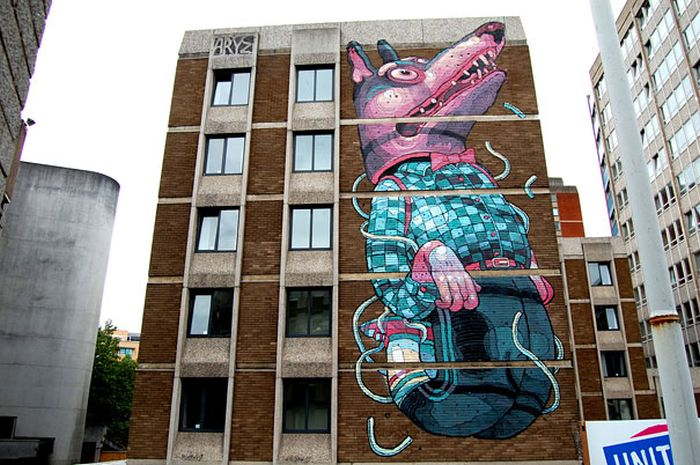 Beautiful Street Art Murals (30 pics)