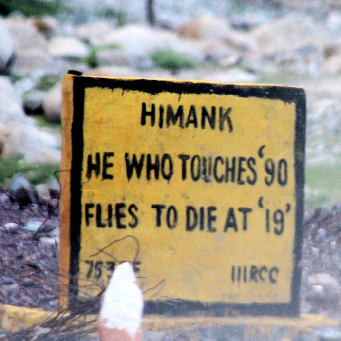 Warning Road Signs in India (30 pics)
