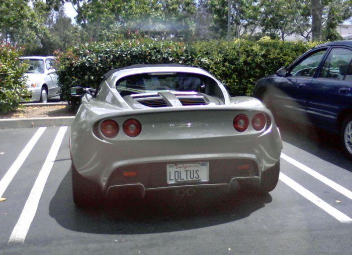 Funny License Plates (12 pics)