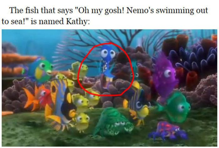 """Facts You Probably Didn't Know About """"Finding Nemo"""" (24 pics)"""