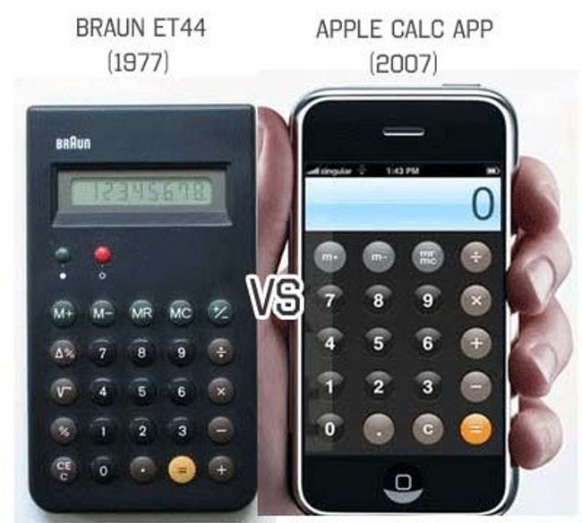 Braun vs Apple (5 pics)