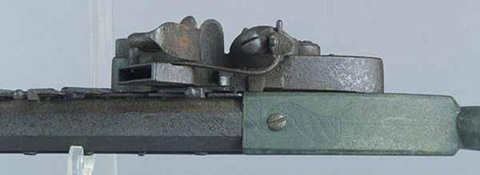 12-Shot Flintlock Jennings Repeating Rifle (15 pics)