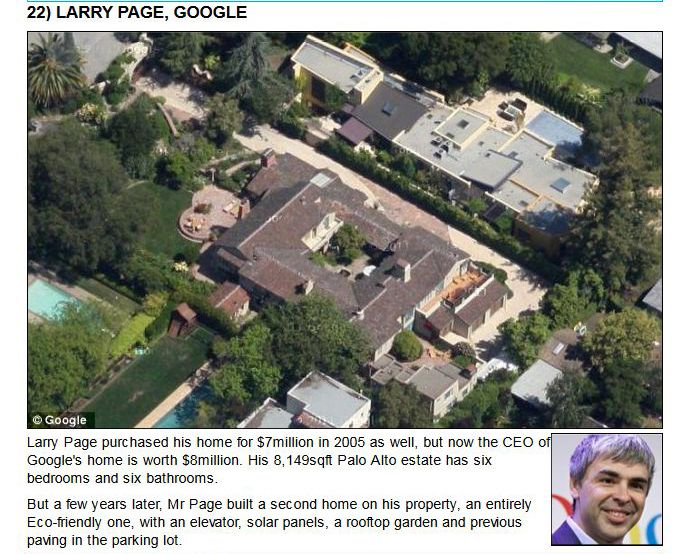The Homes of Tech Titans (25 pics)