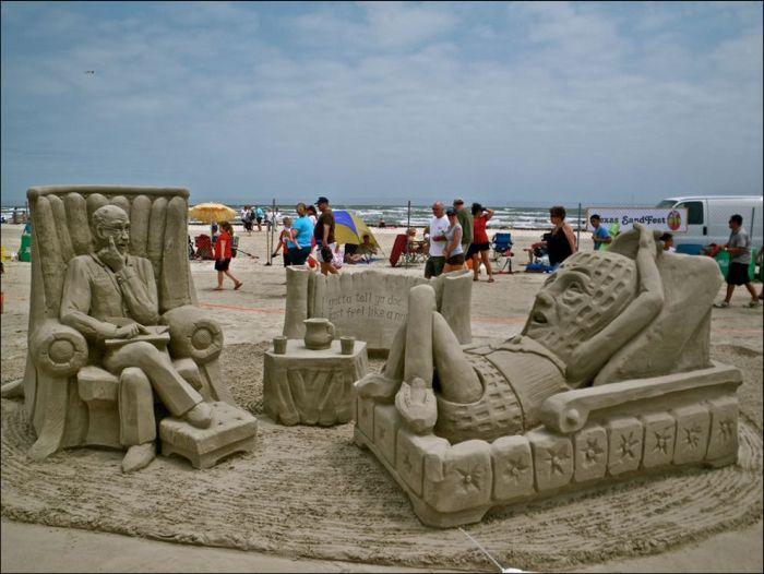 Beautiful Sand Sculptures (33 pics)