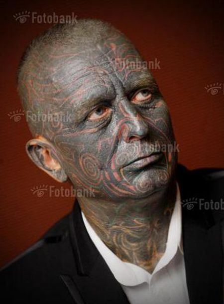Vladimir Franz, the Most Tattooed Presidential Candidate (7 pics)