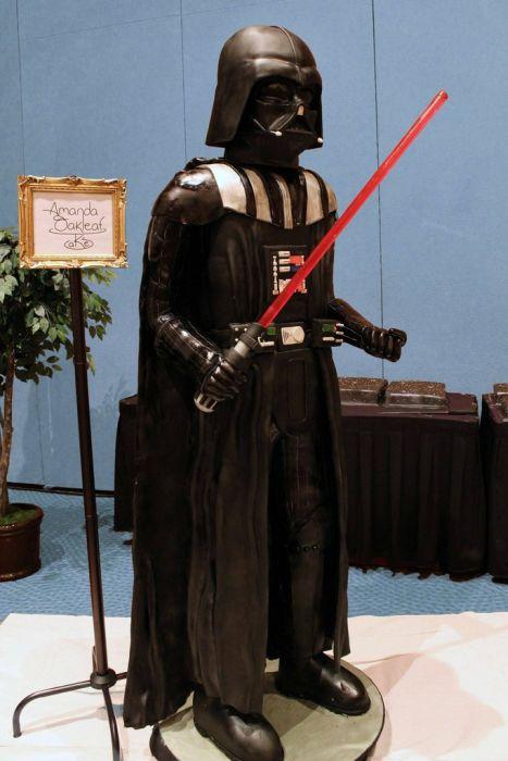 Life-Size Darth Vader Cake (31 pics)