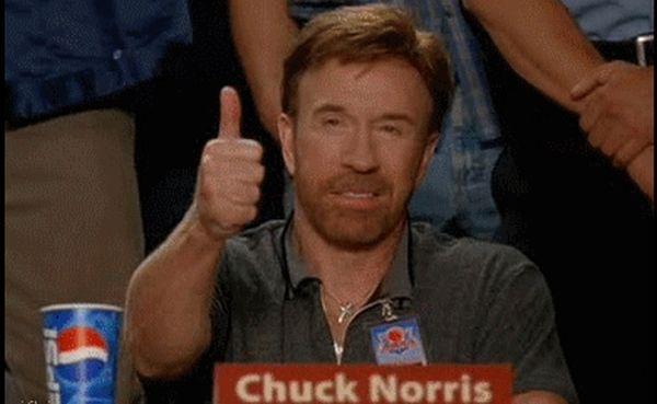 Chuck Norris GIFs (15 gifs)