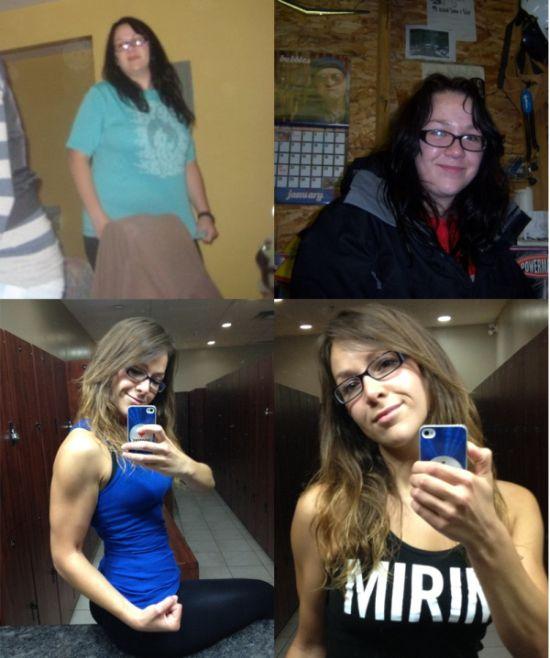 Chubby Girl's Transformation (14 pics)