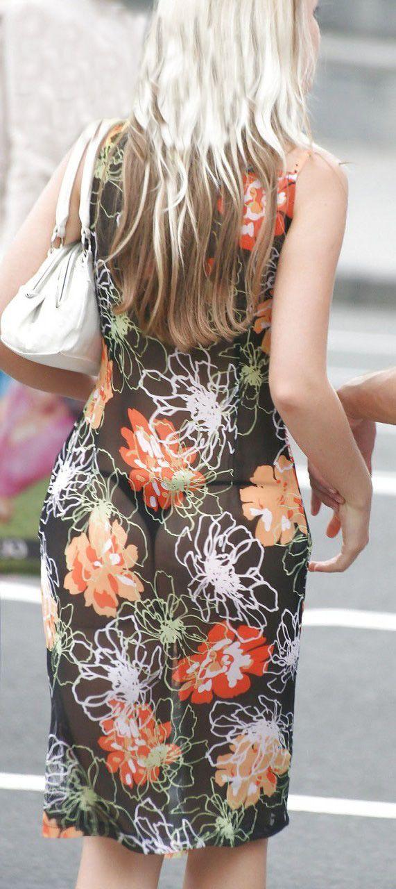 Sexy Transparent Dress (4 pics)