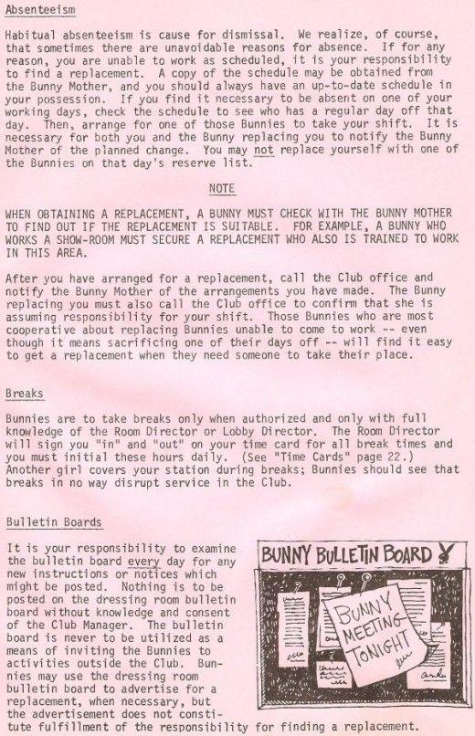 The Playboy Club Bunny Manual (26 pics)