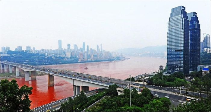 Red River in China (8 pics)