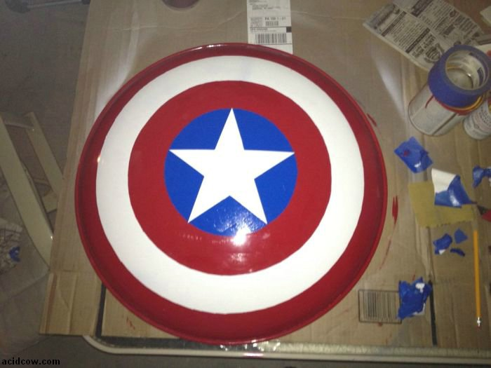 DIY Captain America's Shield (30 pics)