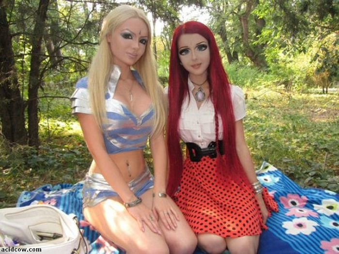 Girl Who Looks Like an Anime Doll (27 pics)