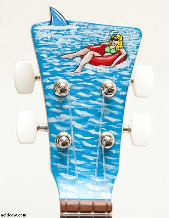 Shark Guitar (4 pics)