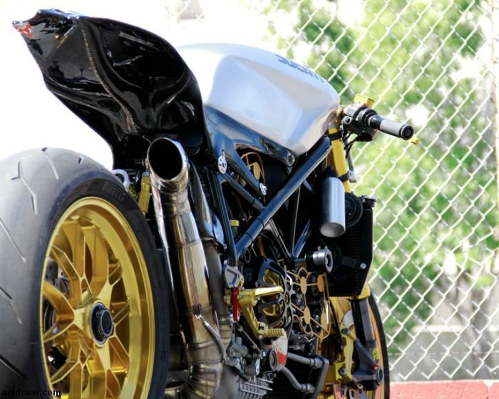 Custom Streetfighter Ducati 1098 Cafe Racer 28 Pics