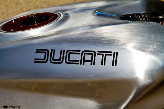 Custom Streetfighter Ducati 1098 Cafe Racer (28 pics)
