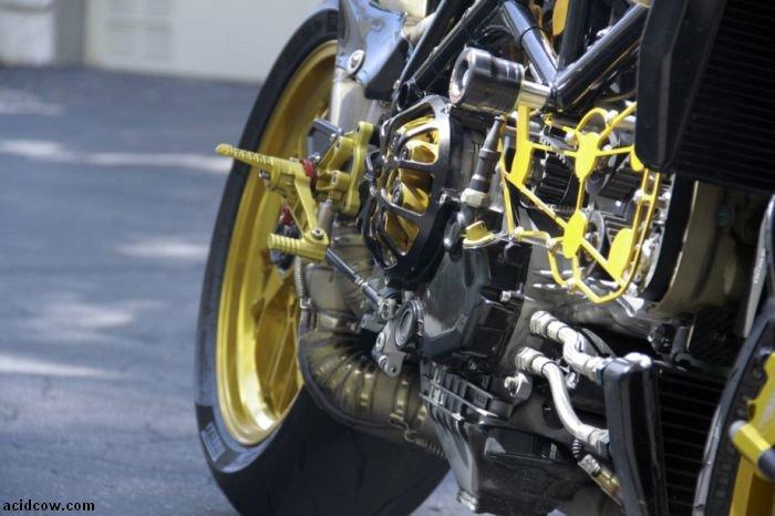 Custom Streetfighter Ducati 1098 Cafe Racer (28 pics)