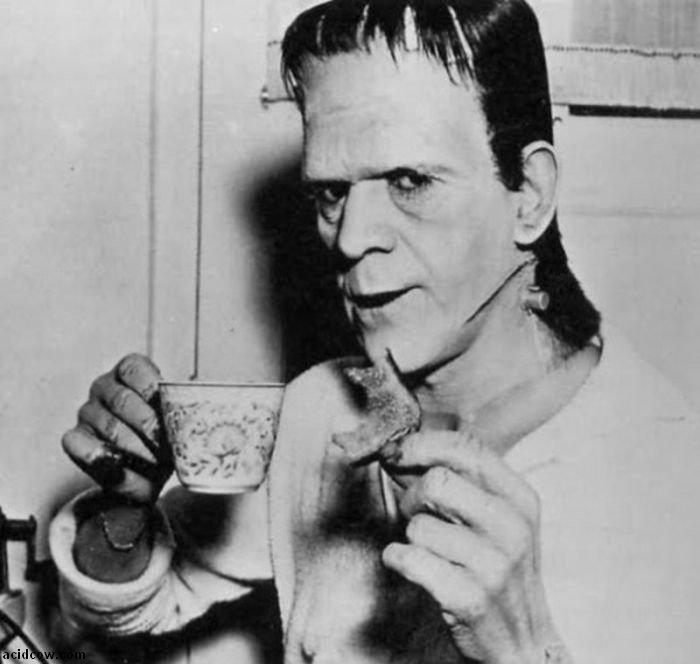 Frankenstein. Behind the Scenes (31 pics)