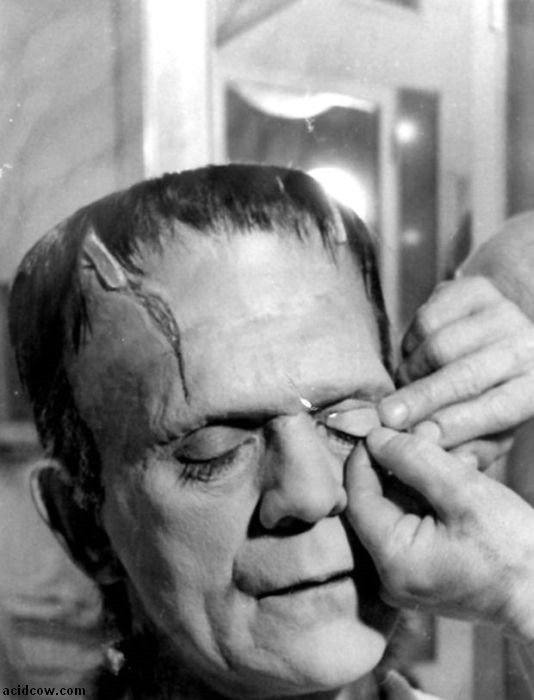 Frankenstein. Behind the Scenes (31 pics)
