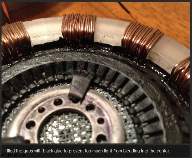 DIY Iron Man's Arc Reactor (15 pics)