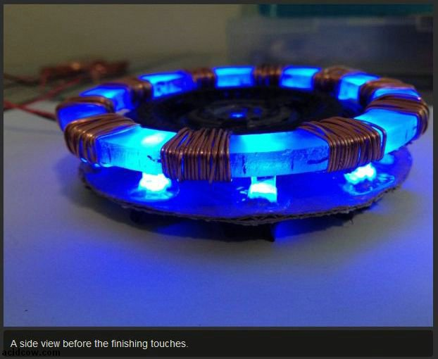 DIY Iron Man's Arc Reactor (15 pics)