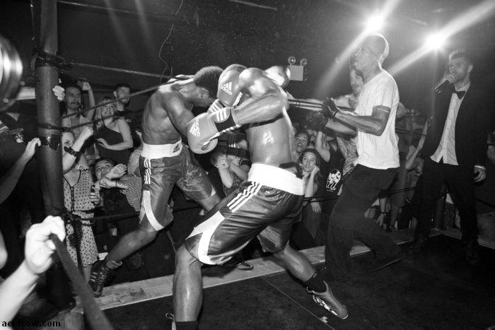 Underground Male Model Fight Club (13 pics)