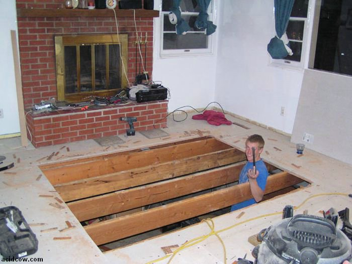 Hot Tub Project (26 pics)