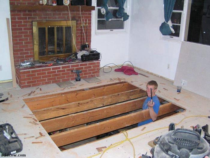 Hot Tub Project (26 pics)