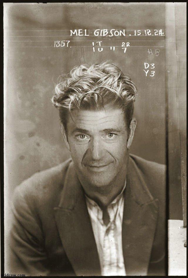 Vintage Mugshots of Celebrities (13 pics)